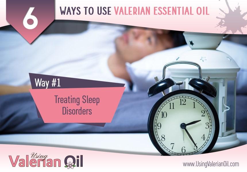 valerian essential oil for sleep